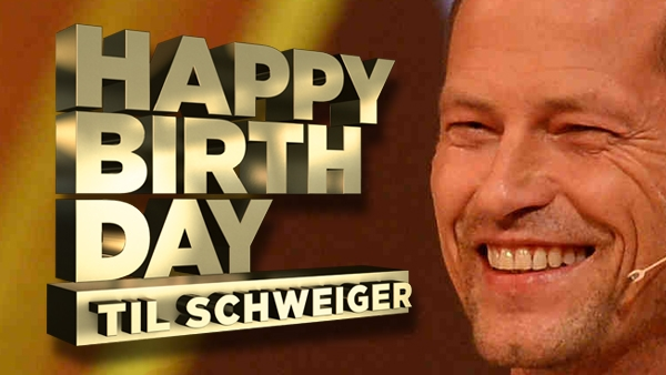 Happy Birthday Til Schweiger!